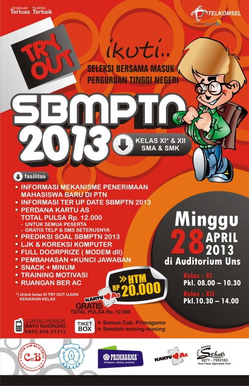 TRY OUT SBMPTN 2013
