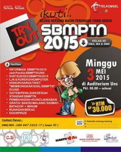 poster try out 3 mei
